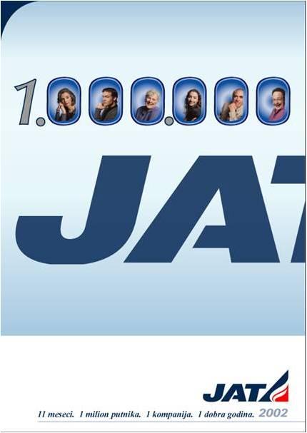 JAT oglas